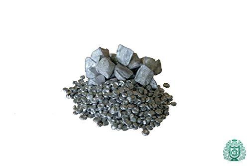 250gr(0.25kg) Zink Zn 99.99% rein Metall Element 30 Pyramieden Lieferant