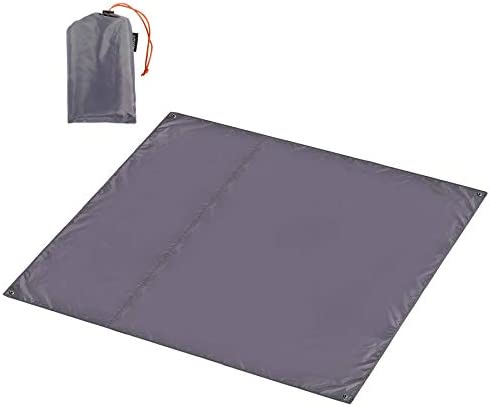 CAMPMOON Waterpfoof Camping Tarps 7x7 Feet Large Oxford 4 in 1 Tent Footprints Ultralight Compact product image