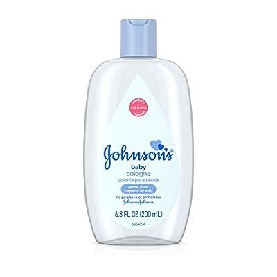 Johnson's Baby Cologne in Light Baby Fragrance, Mild Formula for Babies Delicate Skin, 6.8 fl. oz