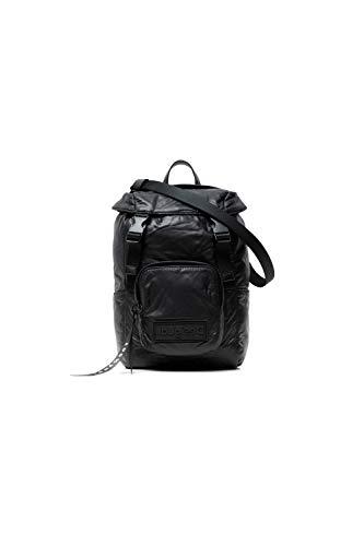 Desigual Fabric Backpack Mini, Zaino Donna, Nero, Medium