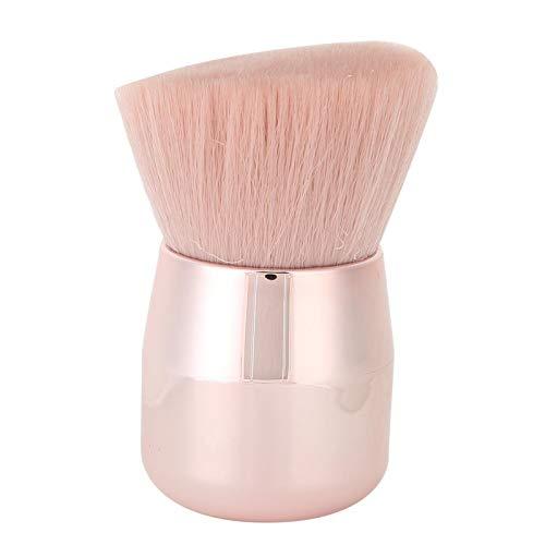 Pinceau de maquillage oblique pour blush - Tête champignon professionnelle pour correcteurs - Pour femme