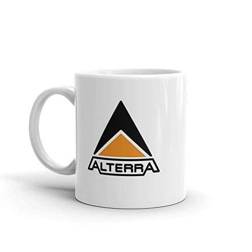 N\A Alterra - Subnautica - Tazas de cerámica Blanca de 11 onzas de Color Blanco Brillante de 11 onzas con asa de fácil Agarre, Dan un Estilo clásico y se sienten.