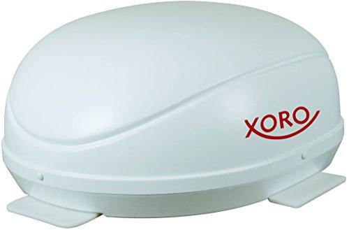 Xoro MBA 36 Multi-Output Vollautomatische Satelliten-Antenne, 47 cm weiß
