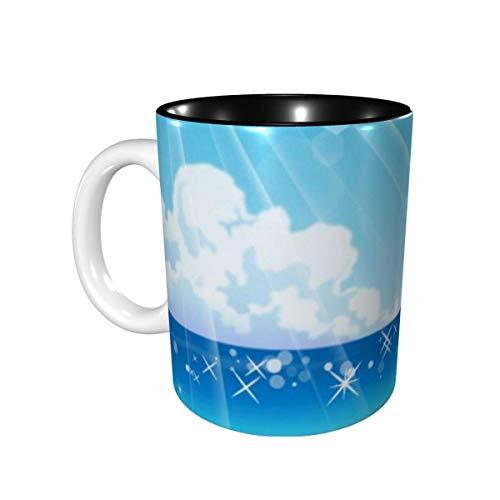 Regalos de abalorios AOOEDM - Taza de café para batidores - Taza de té de cerámica