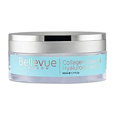 Marine Collagen and Hyaluronic Acid Face Cream, this an Anti Aging Face Cream and Anti Wrinkle Cream; A Face Moisturizer for Women to Reduce Fine Lines, Increase Skin Hydration, and Collagen Content