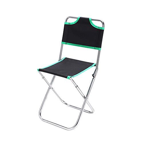 NOBLJX Chaises de Camping Pliantes en Plein air Directeurs de Plage à Haute résistance pour Chaise de Plage 600D en Alliage d'aluminium avec Tissu,Green