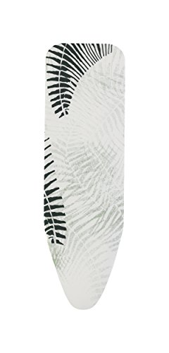 Brabantia - Funda para tabla de planchar B 124 x 38 cm, 2 mm de espuma, color Fern Shades