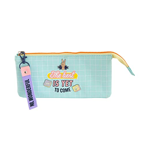 Mr. Wonderful Triple pencil case - The best is yet to come, WOA10964EM