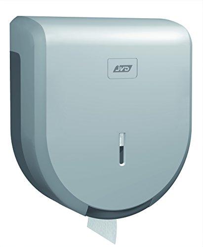 JVD - Distributeur PH Mini Jumbo Bobine 200 m - ABS Capot Gris Metal