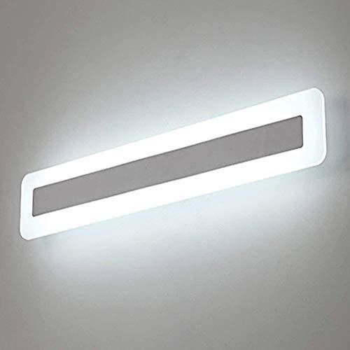 Yafido LED Lampada Specchio 14W Applique da Bagno Bianco Freddo 6000K 900LM 40CM Bagno Luce per...