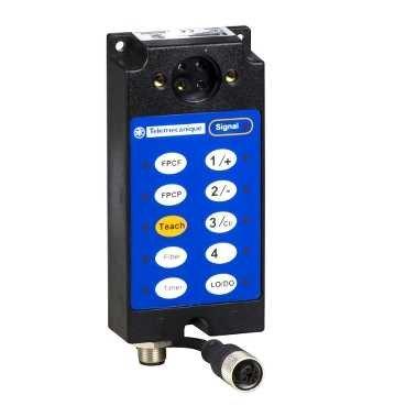 Schneider XUYLC2004 XUY-Optoe. Sensor, Lichtleiter für Verstärker, 4 Farben, 24 V DC, M12