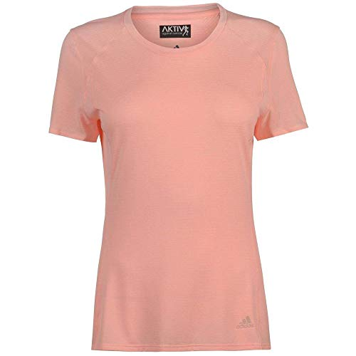 adidas CZ5555 Camiseta, Mujer, Naranja (Clear Orange), S