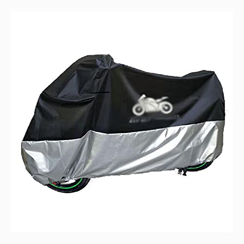 Motorcycle Cover, Sunshade, Electric Car, Waterproof, Reflective, Lock Hole, Rainproof Car Cover,Black-M