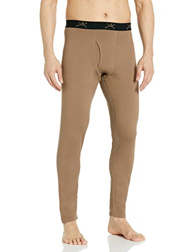 Terramar Military style Fleece Pants Brown, BROWN, XL