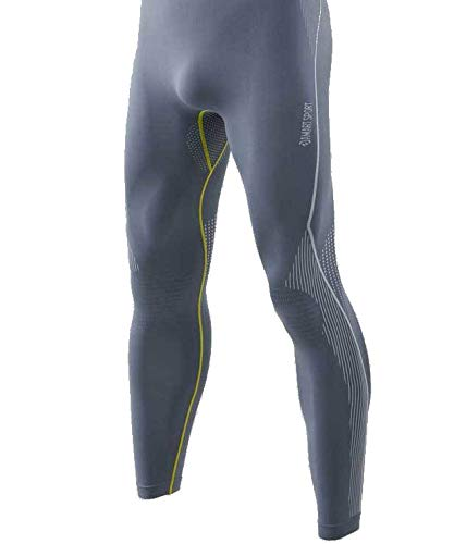Damart Sport Collant Activ Body 2 Thermolactyl Homme, Gris, Small/Medium