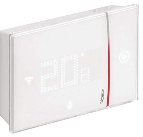 Bticino - Termostato WiFi inteligente Smarther2 with Netatmo XW8002W, de pared, color blanco