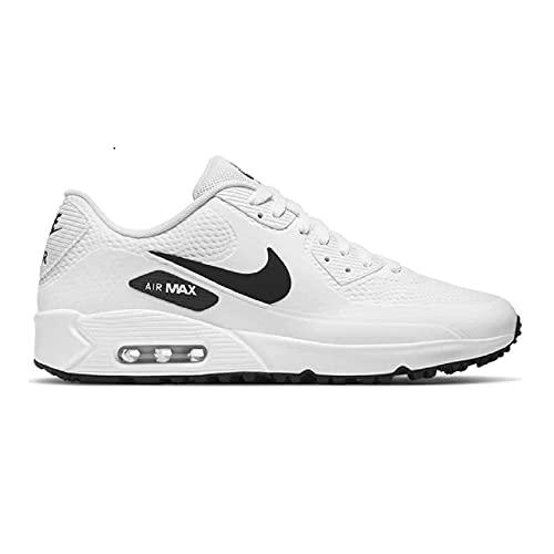 Nike Air Max Chaussures de golf pour homme 90 g, Blanc...