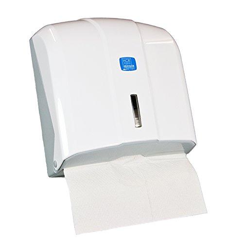Handtuchspender, Papierhandtuchspender, Papierspender weiß