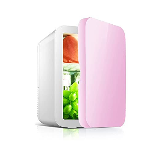 XiYou 8 Liter Retro Fashion Mini Fridge, Car Fridge Freezer Compressor Cooling Warming Low Noise For Traveling Camping