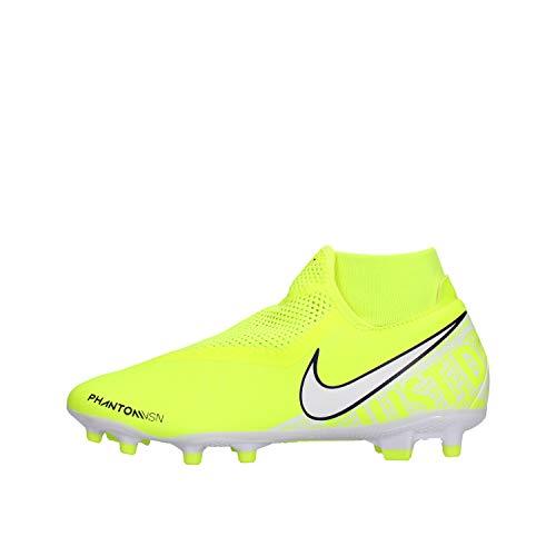 Nike Unisex Erwachsene Phantom Vsn Academy Df Fg Mg Fussballschuhe Grun Volt White Volt 717 42 5 Eu