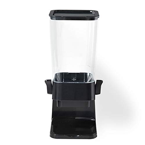 Cereal Dispenser - Portable Compact Dry Food Dispenser/Single Control - for Cereal Nuts, Coffee Beans Trail Mix Candy Oatmeal Rice Pasta Candy Container