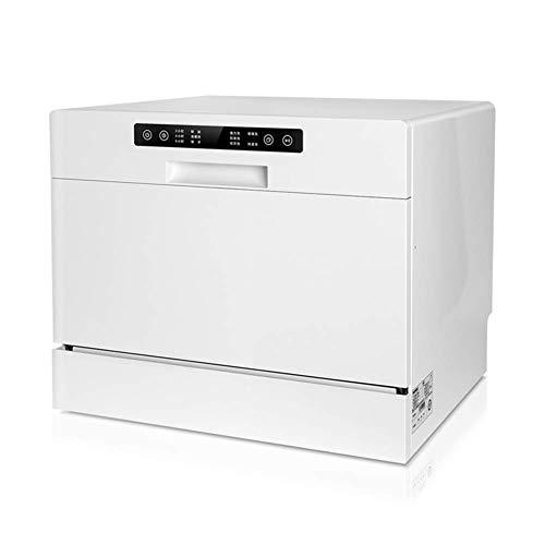 WZLJW Lavastoviglie 220V Desktop DishAsher 70 degHigh tempeature SteriliAtion 360 Pressione degHigh Ater Colonna FlushiAutoAtic ggsm