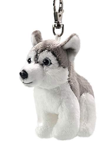 Carl Dick Husky Schlittenhund Schlüsselanhänger aus Plüsch ca. 10cm 3330
