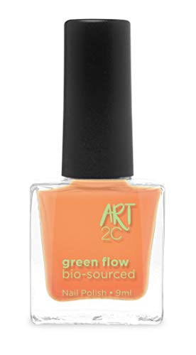 Art 2C 85 % Bio-sourced Vegan Ultra-Pure Patented Nail Polish - veganer, ultra-reiner Nagellack, zu 85 % auf biologischer Basis, 24 Farben, 9 ml, Farbe: Coral 25