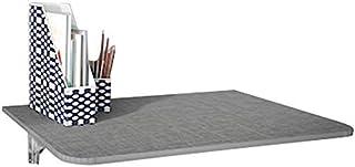 XHCP Table Rabattable Murale Rabattable pour Petits espaces Salle à Manger Table d'étude pour Ordinateur Portable avec 2 S...