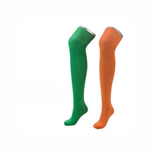 JD Two Color Overknee - Größe 39-41, Orange/Grün