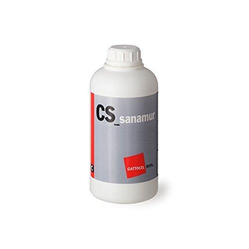 CS_Sanamur -Elimina e previene la muffa su muri, pavimenti, pietra, cotto - 1 LT