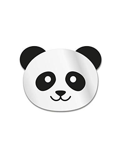 DECOLOOPIO - Specchio da Bambino, Motivo: Testa di Panda