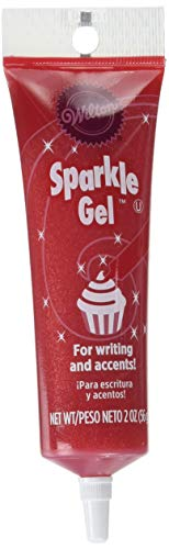 Great Deal! Wilton 704-9990X Red Sparkle Gel Icing Dispenser