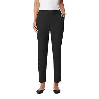 32 DEGREES Ladies' Soft Comfort Pant, Variety (XL, Black)