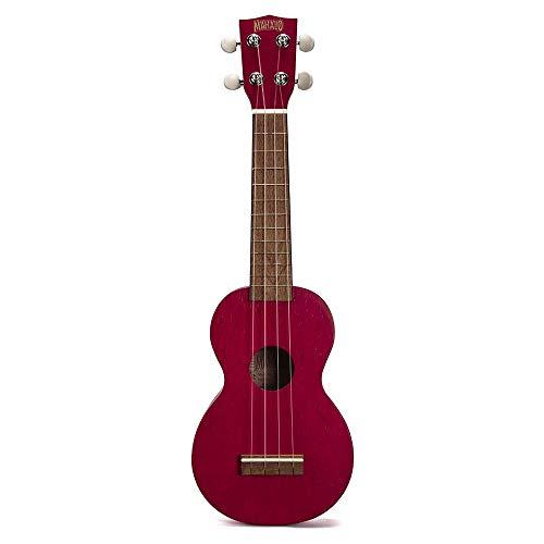 Mahalo MK1trd - Ukelele Soprano, color Rojo