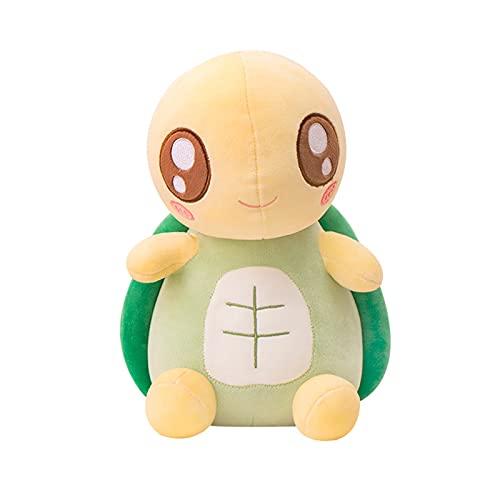 Remifa piccola tartaruga verde Plushie, occhi grandi tartaruga di peluche, giocattolo tartaruga di peluche, verde grandi occhi bella forma di tartaruga cuscino, giocattolo tartaruga di peluche
