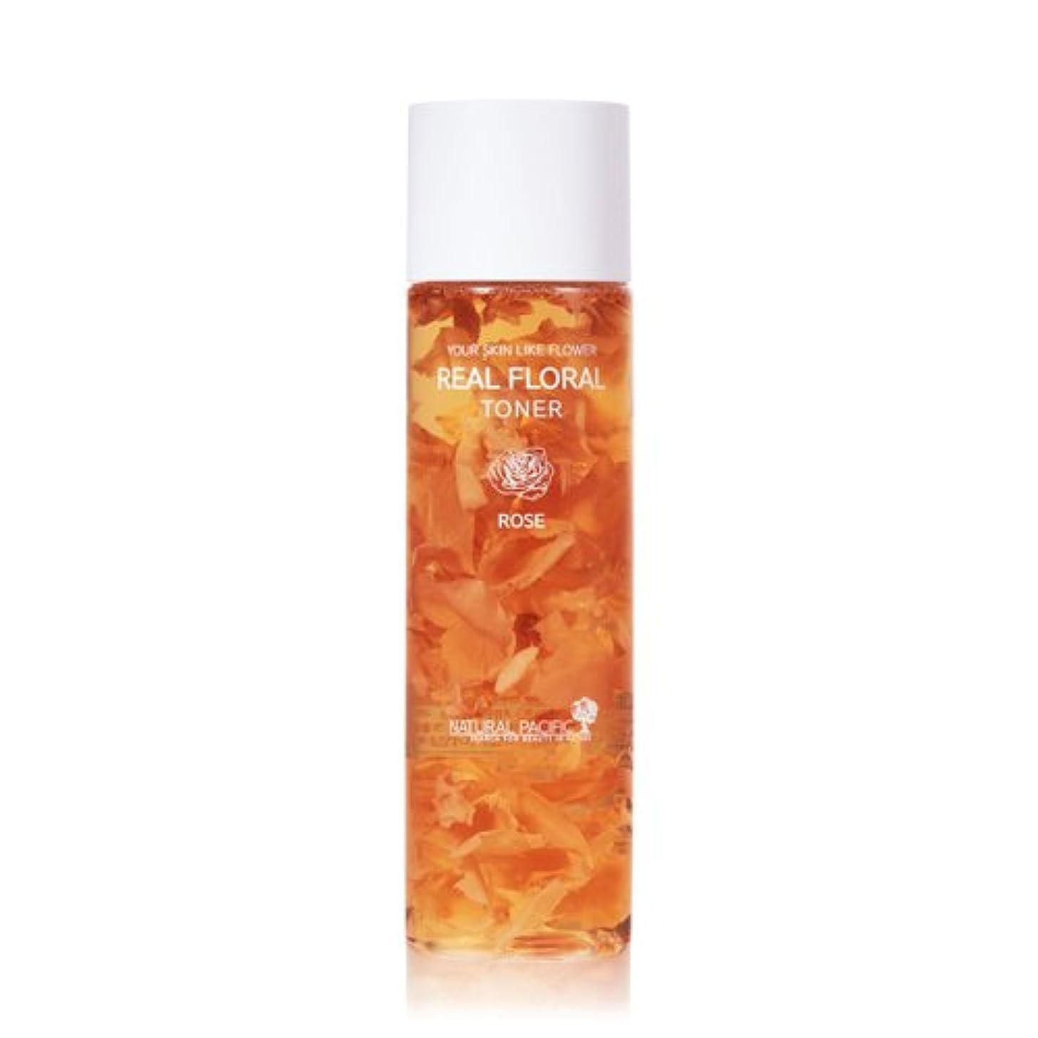 疑わしい踏み台中央値NATURAL PACIFIC Real Rose Floral Toner 180ml/ナチュラルパシフィック リアル ローズ フローラル トナー 180ml [並行輸入品]