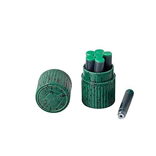 Visconti Tintenpatrone, grün, Tube mit 7 Stück