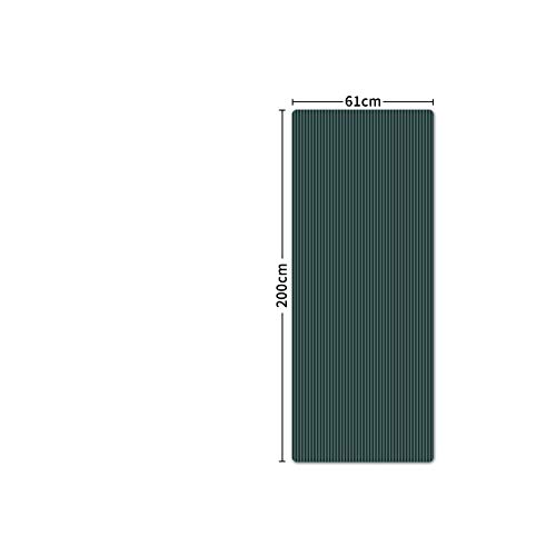 Big Incisors-CA Tapis de Yoga Long | 200 * 61 cm 15 mm épais Tapis de Yoga qualité Exercice Tapis de Sport pour Fitness Gym Maison Insipide Pad Tapis d'exercice Gymnastique tapis-15 mm DarkGreen-
