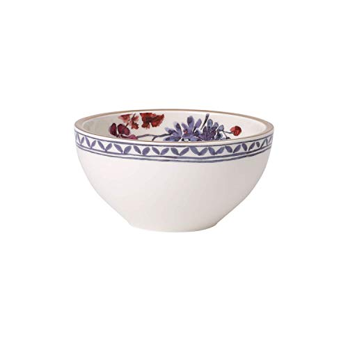 Villeroy & Boch Artesano Provençal Lavanda Ciotola, Porcellana Premium, Bianco/Multicolore