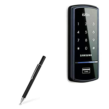 BoxWave Stylus Pen for Samsung SHS-1321 [FineTouch Capacitive Stylus] Super Precise Stylus Pen for Samsung SHS-1321 - Jet Black