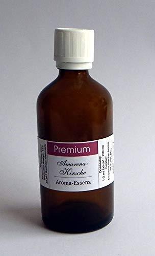 PREMIUM Amarena Kirsch Aroma Essenz 100 ml konzentriert-für SPIRITUOSEN und Lebensmittel, Deutsches Produkt!!!!ANGEBOT statt € 16,90 jetzt