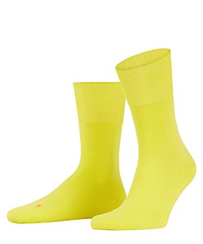 FALKE Unisex Run U SO Socken, Blickdicht, Gelb (Sulfur 1084), 46-48