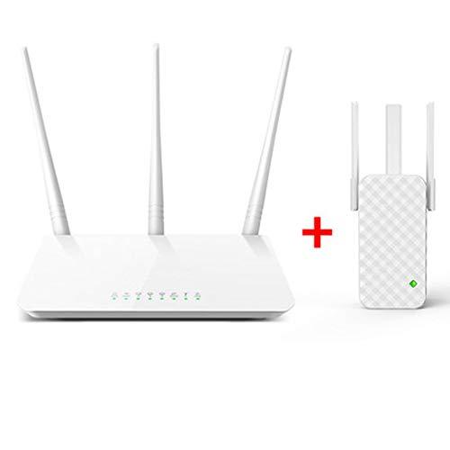 PXYUAN 300 Mbps Wireless N Cable Router, Easy Setup, WPS Button, Gamers Private Network, Game Radar para conexión de servidores, apartamentos pequeños y medianos WIFI-A