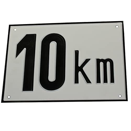 Höchstgeschwindigkeit Tafel 10 Km/h Alu