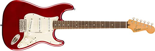 Fender Squier Classic Vibe 60s Stratocaster LRL Candy Apple Red. Guitarra Eléctrica
