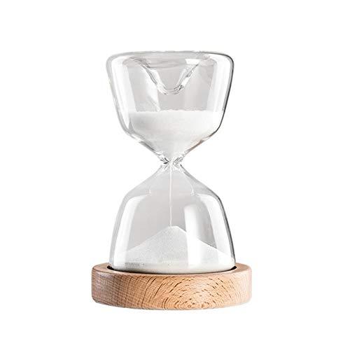 FLLXSMFC Reloj de arena con temporizador de reloj de arena de 15 minutos reloj de arena lámpara de dormir decoración del hogar