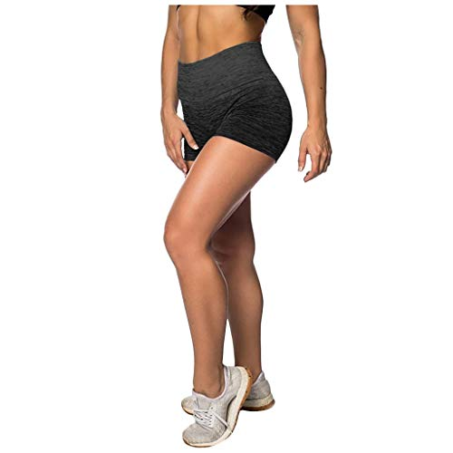 Best Prices! Workout Shorts for Women - Fashionable Gradient Shorts High Waist Yoga Booty Short Elas...