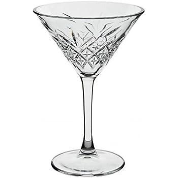Transparente 50cm INNA Glas Copa de Martini//Copa de c/óctel Ivana con pie Embudo//Redondo Jarr/ón de Cristal//Copa Decorativa /Ø25,5cm