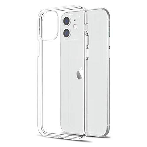 TONGTONG Carcasa ultra fina transparente para iPhone 11 12 Pro Max Xs Max Xr X suave TPU silicona para iPhone 5 6 6S 7 8 Se 2020 cubierta trasera del teléfono